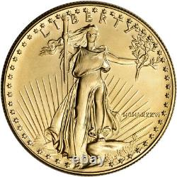 1986 Américaine Gold Eagle 1 Oz 50 $ Bu