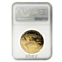 1987 W 1 Oz 50 $ Proof Gold American Eagle Ngc Pf 70 Ucam