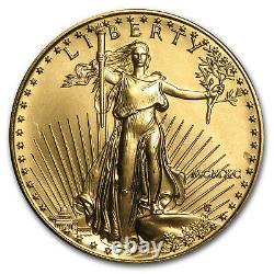 1990 1 Oz Gold American Eagle Bu (mcmxc) Sku #7672