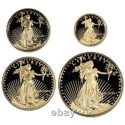1991 Américaine Gold Eagle Proof Set Quatre-coin