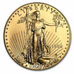 1996 1 Oz Gold American Eagle Bu Sku #65276