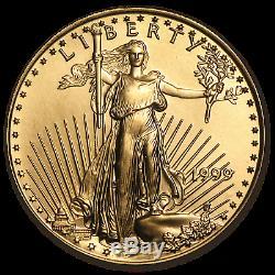 1999 1/2 Oz D'or American Eagle Bu Sku # 7487