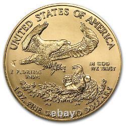 1999 1 Oz Gold American Eagle Bu Sku #7675