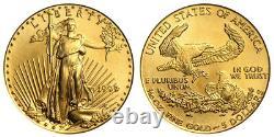 1999 P 1/10e Oz Or $5 Dollar American Eagle Us Bullion Coin Saint- Gaudens