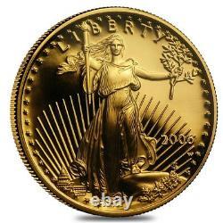 2006 W 1/2 Oz 25 $ Proof Gold American Eagle Ngc Pf 70 Ucam