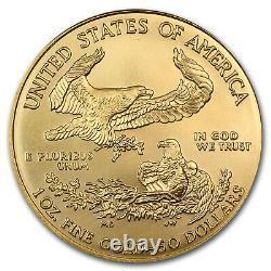 2008 1 Oz Gold American Eagle Bu Sku #30105