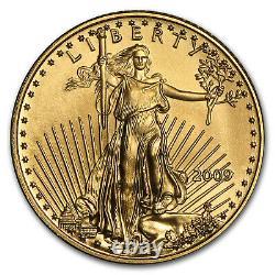 2009 1/10 Oz Gold American Eagle Bu Sku #48686