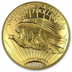 2009 Ultra High Relief Double Eagle Gold Coin Boîte D'origine Et Coa