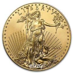 2010 1 Oz D'or American Eagle Bu Sku # 57011