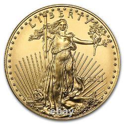 2011 1 Oz Gold American Eagle Bu Sku #59146