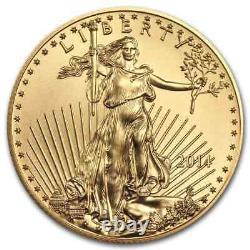 2014 1 Oz Gold American Eagle Bu Sku #79031