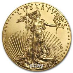 2015 1 Oz D'or American Eagle Bu Sku # 84882