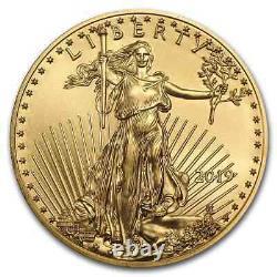 2019 1 Oz Gold American Eagle Bu Sku#171251