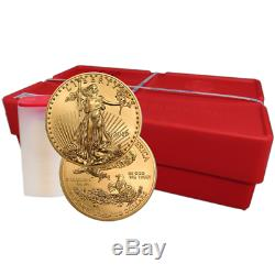 2019 50 $ Américain Gold Eagle 1 Oz Brillant Uncirculated