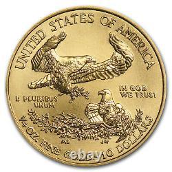 2020 1/4 Oz American Gold Eagle Bu