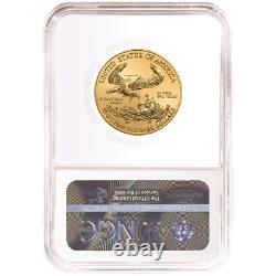 2020 25 $ Américain Gold Eagle 1/2 Onces. Ngc Ms70 Trump Étiquette