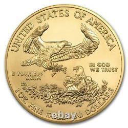 2020 États-unis D'amérique Gold Eagle 1 Oz Coin
