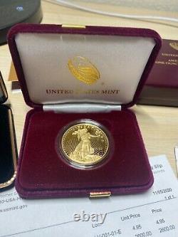 2020 Fin De La Seconde Guerre Mondiale 75e Anniversaire American Eagle Gold Proof Coin