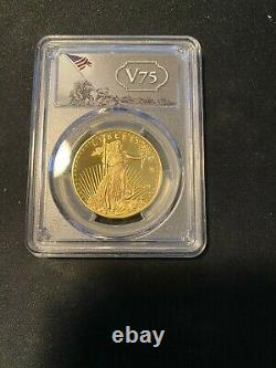 2020 Fin De La Seconde Guerre Mondiale 75e Anniversaire American Gold Eagle Pcgs Pr70