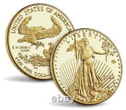 2020 Us Mint End Of World War II 75th Anniv American Eagle Gold Proof Coin V75