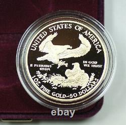 2020-w Gold American Eagle V75 Privy World War2 Proof Coin Avec Box Coa