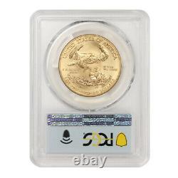 2021 50 $ Gold American Eagle Type 1 Pcgs Ms70 Premier Jour D'émission Fdoi 1oz 22kt