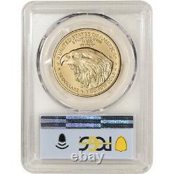 2021 American Gold Eagle Type 2 1 Oz 50 $ Pcgs Ms70 Premier Jour D'émission