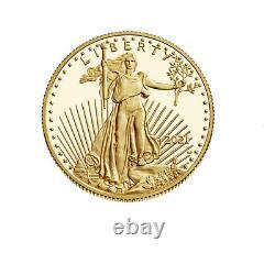 2021 W American Eagle 1/2 Oz. Pièce De Monnaie À L'épreuve De L'or- Prévente