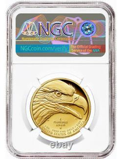 2021 W G$100 American Liberty Series High Relief. 9999 Fine Er Ngc Pf70