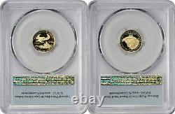 2021-w $5 American Gold Eagle Designer Edition 2 Pièces Pr70dcam Fs Pcgs