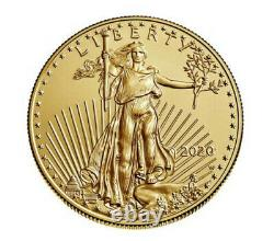 American Eagle 2020 One Ounce Gold Uncirculated Coin Last Of Series Confirmé