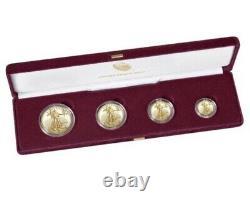 American Eagle 2021 Gold Proof Four-coin Set 4 Pièce 2021. Numéro D'article 21ef