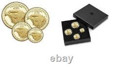 American Eagle 2021 Or Proof Four-coin Set Numéro D'article 21efn