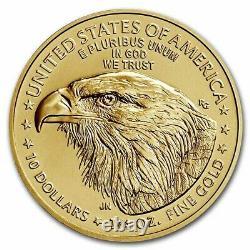 Avant La Vente 2021 1/4 Oz American Gold Eagle Ms-70 Pcgs (fdi, Type 2) Sku #232555