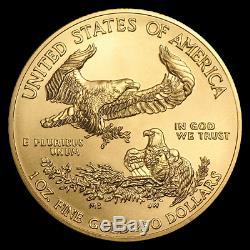 Ch / Gem Bu 2020 1 Oz. 50 $ American Eagle Gold United States Coin 1 Unze