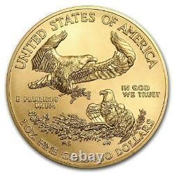 Ch/gem Bu 2021 1oz $50 American Gold Eagle Bullion Coin The Gold Standard