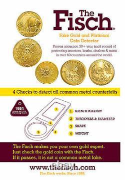 Détecteur Fisch Fake Coin Pour L'aigle D'or Américain