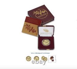 Fin De La Seconde Guerre Mondiale 75e Anniversaire 24-karat Gold Coin In Hand, Unopened