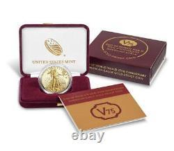 Fin De La Seconde Guerre Mondiale 75e Anniversaire American Eagle Gold - Pièces De Preuve D'argent