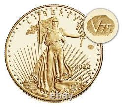 Fin De La Seconde Guerre Mondiale 75e Anniversaire American Eagle Gold Proof Coin