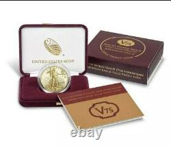 Fin De La Seconde Guerre Mondiale 75e Anniversaire American Eagle Gold Proof Coin Confirmé
