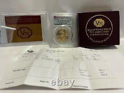 Fin De La Seconde Guerre Mondiale 75e Anniversaire American Eagle Gold Proof Coin Pcgs Pr70