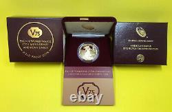 Fin De La Seconde Guerre Mondiale 75e Anniversaire American Eagle Gold Proof Coin V75 Rare