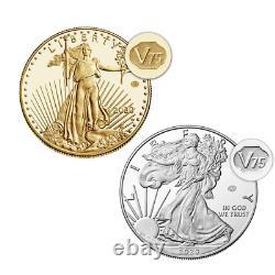 Fin De La Seconde Guerre Mondiale 75e Anniversaire American Eagle Gold & Silver Proof Coins