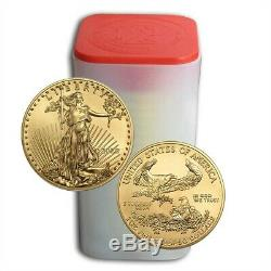 Lot De 20 2020 1 Oz Gold Eagle Américain Coin Brillant Ongecirculeerd