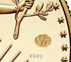 Pcgs 2020 American Gold Eagle V75 Fin De La Ww2 75e Anniv Coin Confirmé Ordre