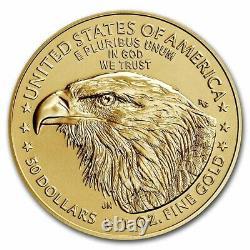 Prévente 2021 1 Oz American Gold Eagle Ms-70 Pcgs (fs, Noir, Type 2)